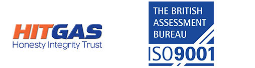 HitGas awarded ISO 9001 by the British Assessment Bureau