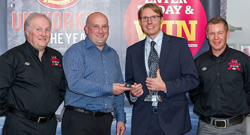 The Dickies sponsored UK Worker of the Year (UKWOTY) competition